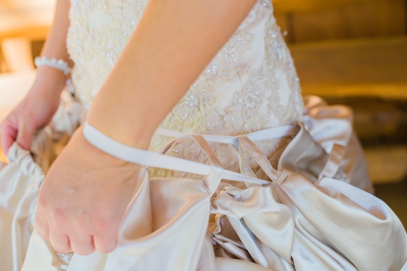 Close Up Gown Guardian Wedding Dress Guardian