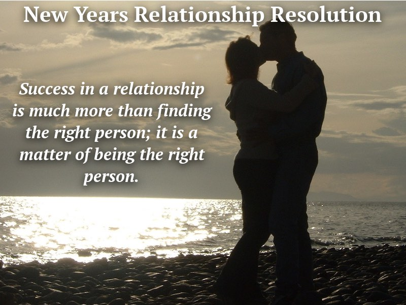New Years Relationship Resolution
